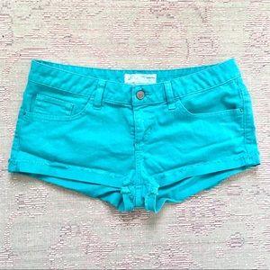 Guess LA aquamarine shorts